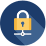 it services domain management security icon