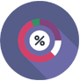 built in analytics reporting icon